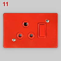SANS 164-4 dedicated socket, red variant