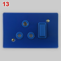 SANS 164-4 dedicated socket, blue variant